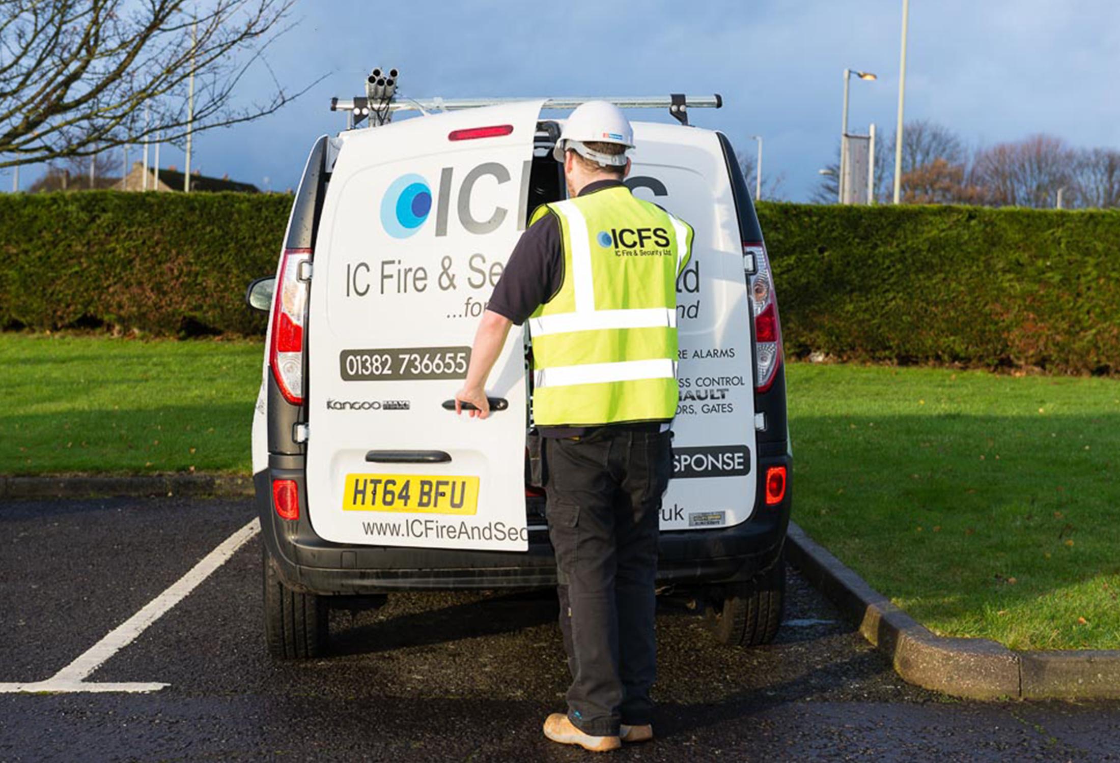 ICSF Van.